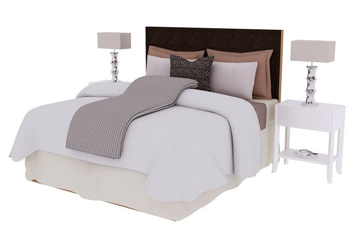 Ako vybrať prehoz cez posteľ?